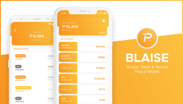 Meet Blaise: Simple, Sleek & Secure Pascal Wallet — Public Beta now Available for iOS and Android