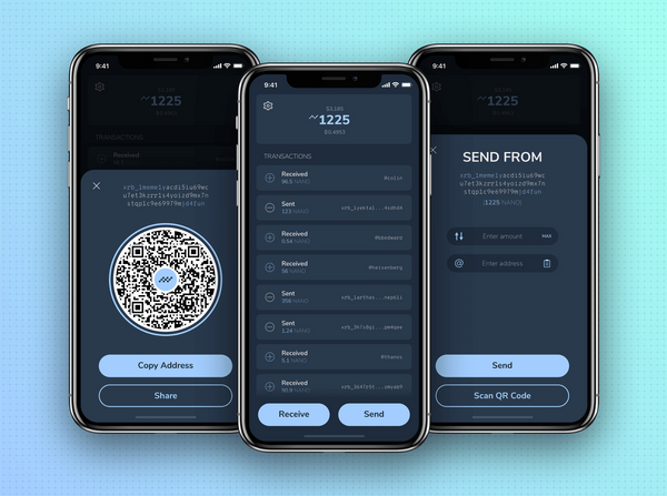 Natrium 2.0-NANO Mobile Wallet now Available on the iOS AppStore!